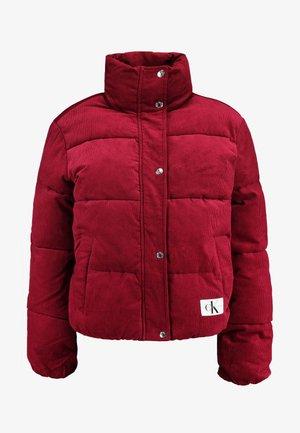PUFFER JACKET - Zimní bunda - beet red