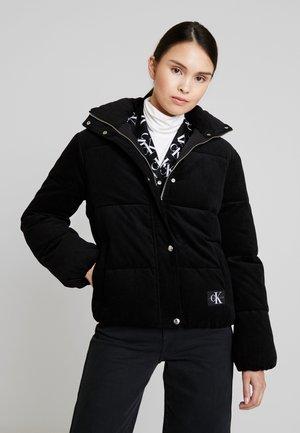 PUFFER JACKET - Zimní bunda - black
