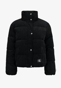 Calvin Klein Jeans - PUFFER JACKET - Zimní bunda - black - 4