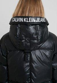 Calvin Klein Jeans - LONG PUFFER - Dunkåpe / -frakk - black - 4