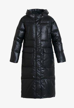LONG PUFFER - Dunkåpe / -frakk - black