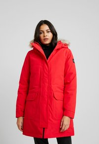 Calvin Klein Jeans - GERMANY SPECIAL PARKA - Doudoune - racing red - 0