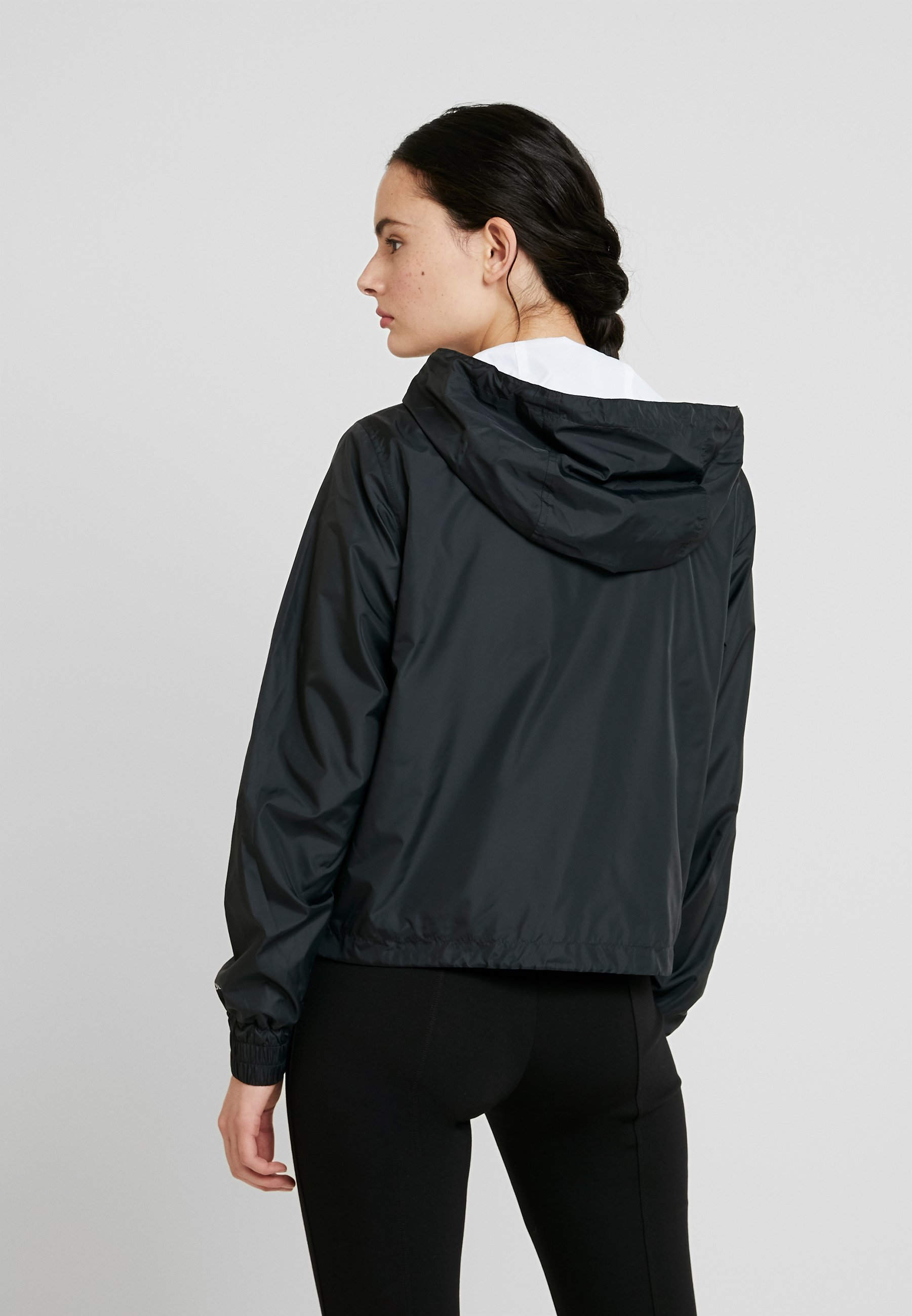 Calvin Klein Jeans POP COLOUR UNPADDED WINDBREAKER - Wiatrówka - black/bright white