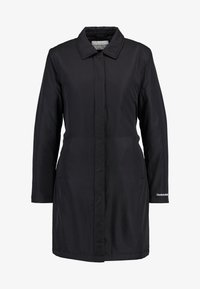Calvin Klein Jeans - LIGHT PADDED CARCOAT - Short coat - black - 4