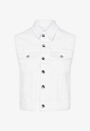 Waistcoat - da085 white embroidery