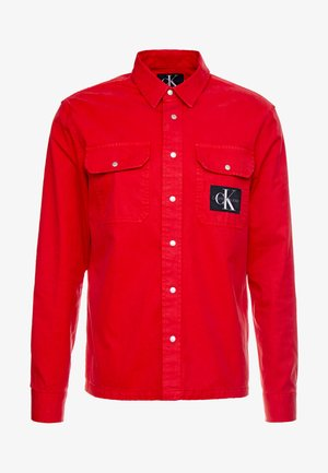ARCHIVE ICONIC UTILITY SHIRT - Skjorte - red