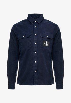 ARCHIVE ICONIC UTILITY SHIRT - Košile - blue
