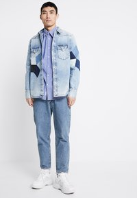 Calvin Klein Jeans - FOUNDATION WESTERN - Camicia - light-blue denim - 1