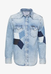 Calvin Klein Jeans - FOUNDATION WESTERN - Camicia - light-blue denim - 4