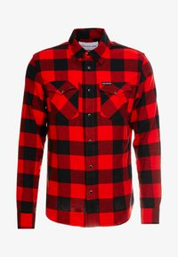 Calvin Klein Jeans - WESTERNCHECK SHIRT REGULAR FIT - Košile - racing red/black - 3
