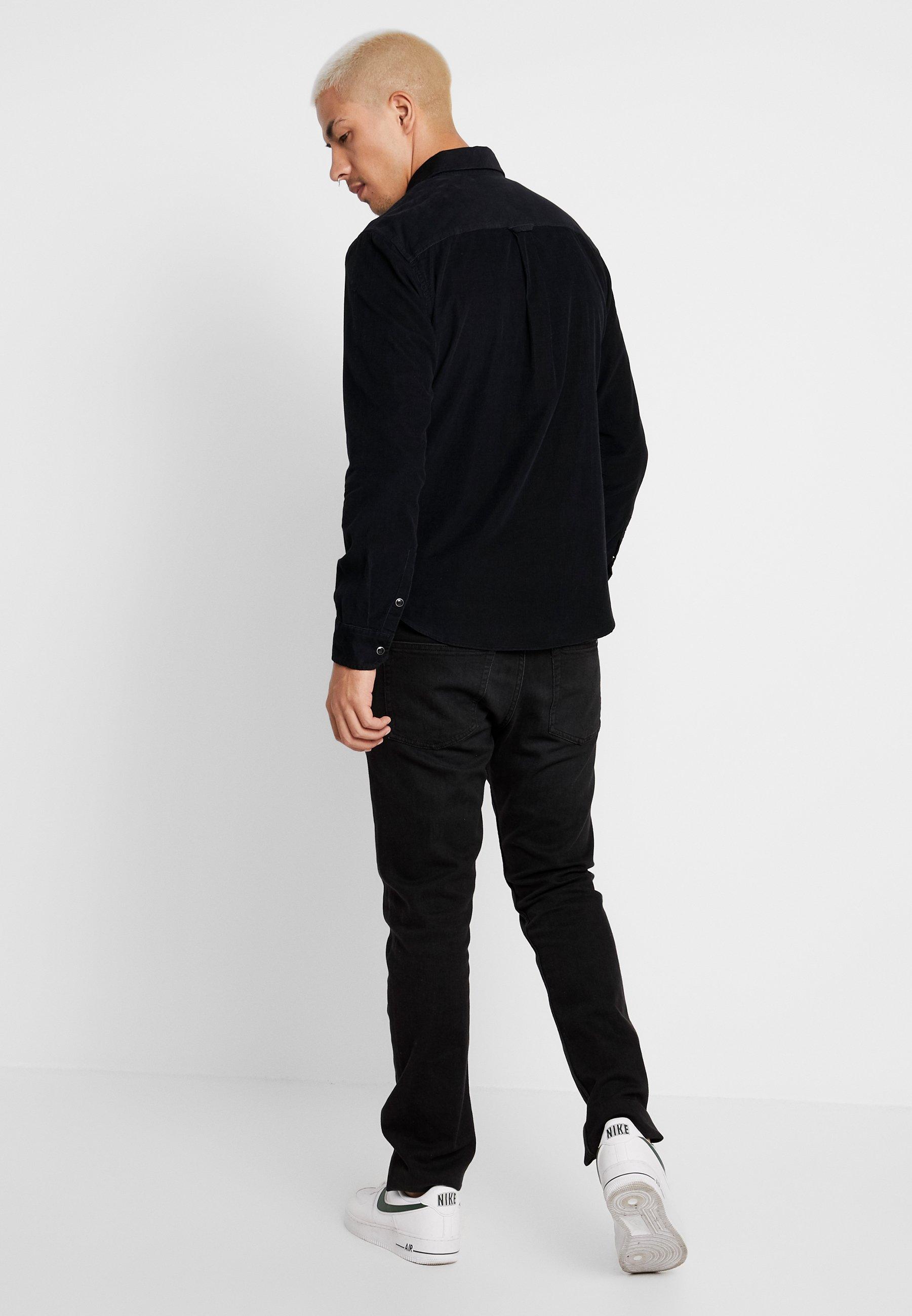 Regular Calvin Klein Jeans FitCamicia Black nw80OPk