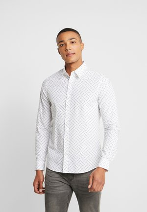 LOGO SLIM STRETCH - Camicia - bright white
