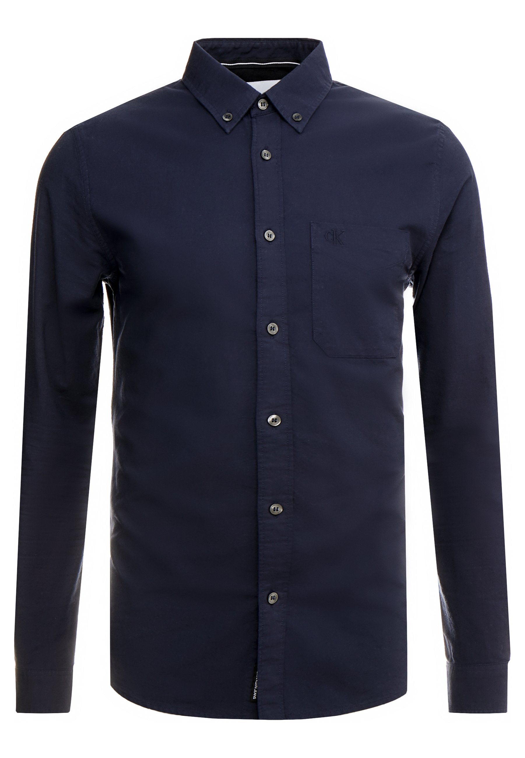 Calvin Klein Jeans Oxford Solid Slim Non Stretch - Skjorta Night Sky