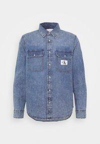 Calvin Klein Jeans - ARCHIVE REGULAR  - Chemise - mid blue - 5