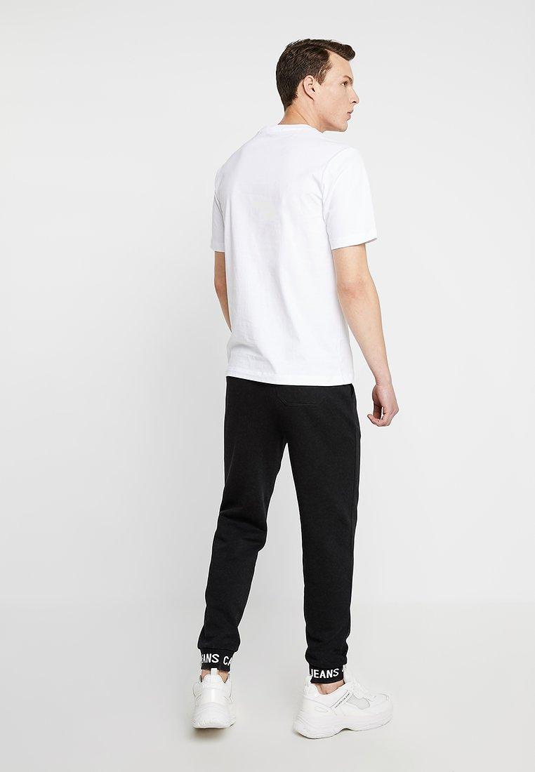 CuffPantalon Survêtement Instit Black De Calvin Jeans Klein Logo Hwk f7gY6vby
