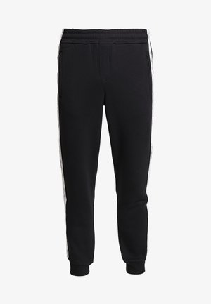 MONOGRAM TAPE PANT - Tracksuit bottoms - black/white