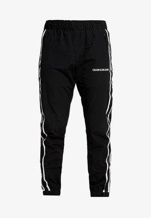 SIDE STRIPE TRACK PANT - Teplákové kalhoty - black