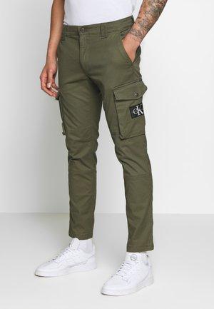 SKINNY PANT - Pantalones cargo - deep depths