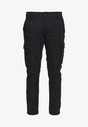 SKINNY PANT - Cargobukse - black