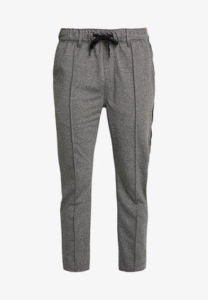 SIDE STRIPE JOGGER - Tracksuit bottoms - grey heather