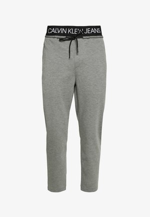 EXPOSED WAISTBAND MILANO PANT - Tracksuit bottoms - mid grey heather