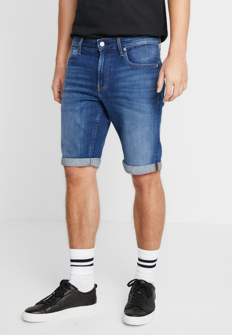 Calvin Klein Jeans - Jeans Shorts - blue denim