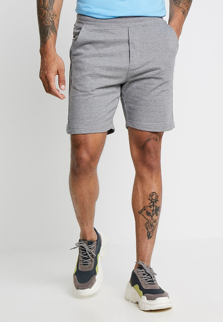Calvin Klein Jeans - SIDE INSTITUTIONAL - Shorts - grey