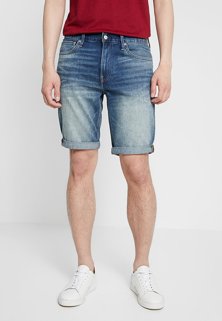 Calvin Klein Jeans - SLIM - Denim shorts - denim