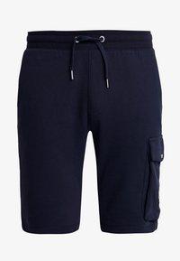 Calvin Klein Jeans - MONOGRAM PATCH SHORT - Shorts - night sky - 4
