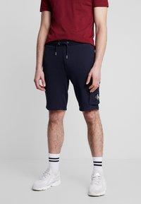 Calvin Klein Jeans - MONOGRAM PATCH SHORT - Shorts - night sky - 0