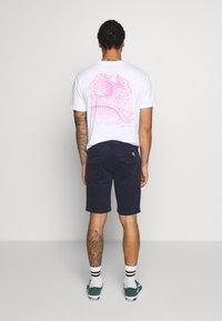 Calvin Klein Jeans - SLIM WASH PLEATED - Short - night sky - 2