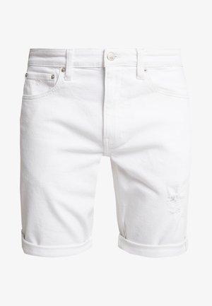 REGULAR SHORT - Jeansshort - white denim
