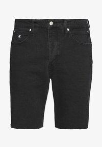 Calvin Klein Jeans - CK ONE REGULAR SHORT - Jeansshort - black stone - 5