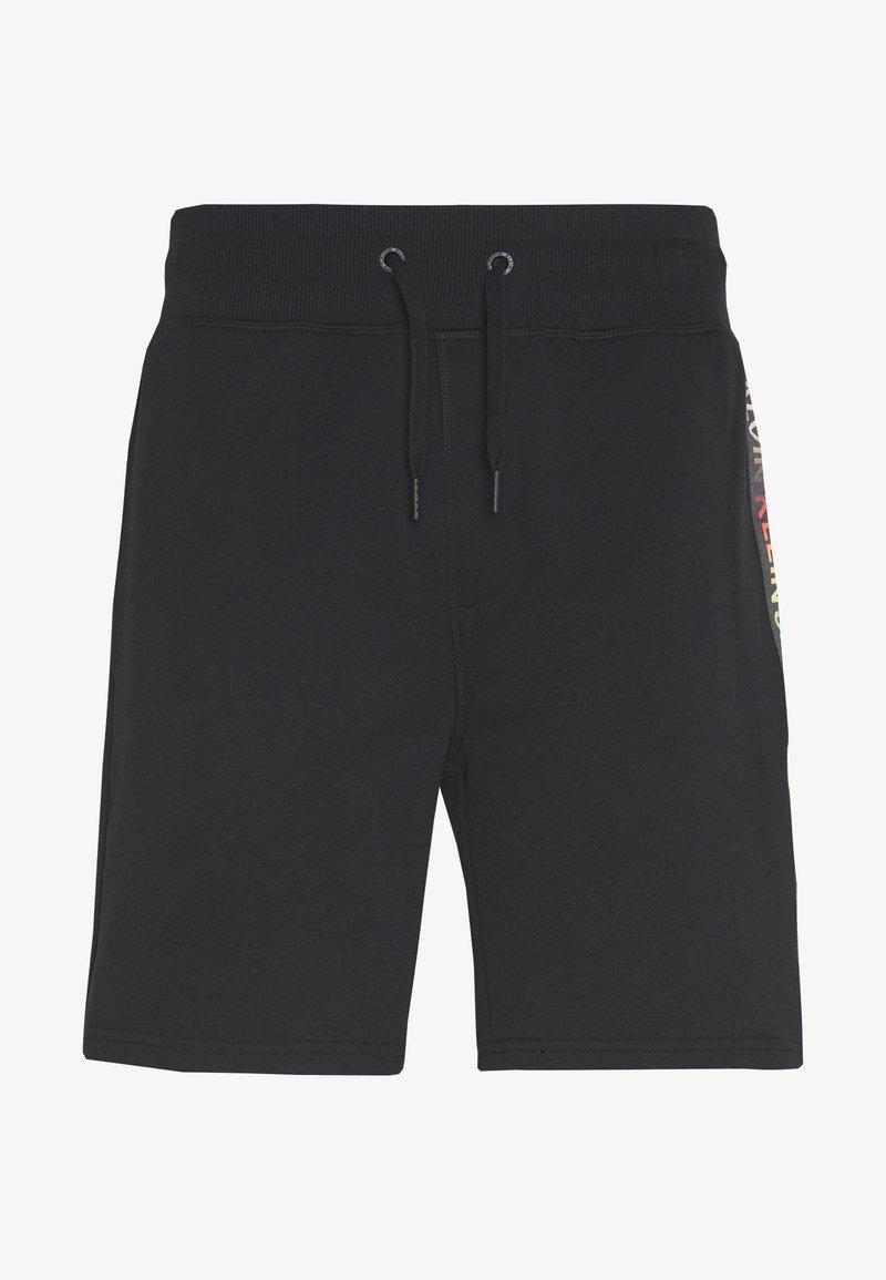 Calvin Klein Jeans - INSTITUTIONAL HWK SHORT PRIDE - Tracksuit bottoms - black