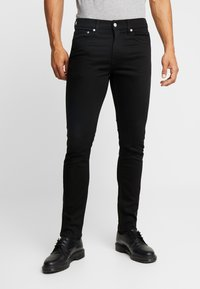 Calvin Klein Jeans - WEST CUT - Vaqueros slim fit - stay black - 0