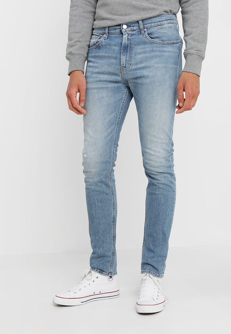 Calvin Klein Jeans - 016 SKINNY FIT - Vaqueros pitillo - vienna blue