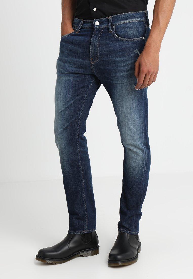 Calvin Klein Jeans - 026 SLIM - Jeans Slim Fit - lisbon dark blue