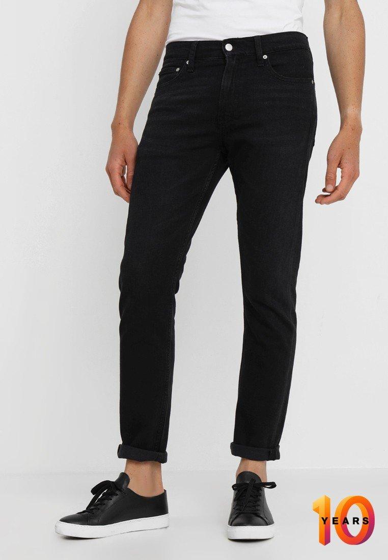 Calvin Klein Jeans - 026 SLIM - Slim fit jeans - copenhagen black
