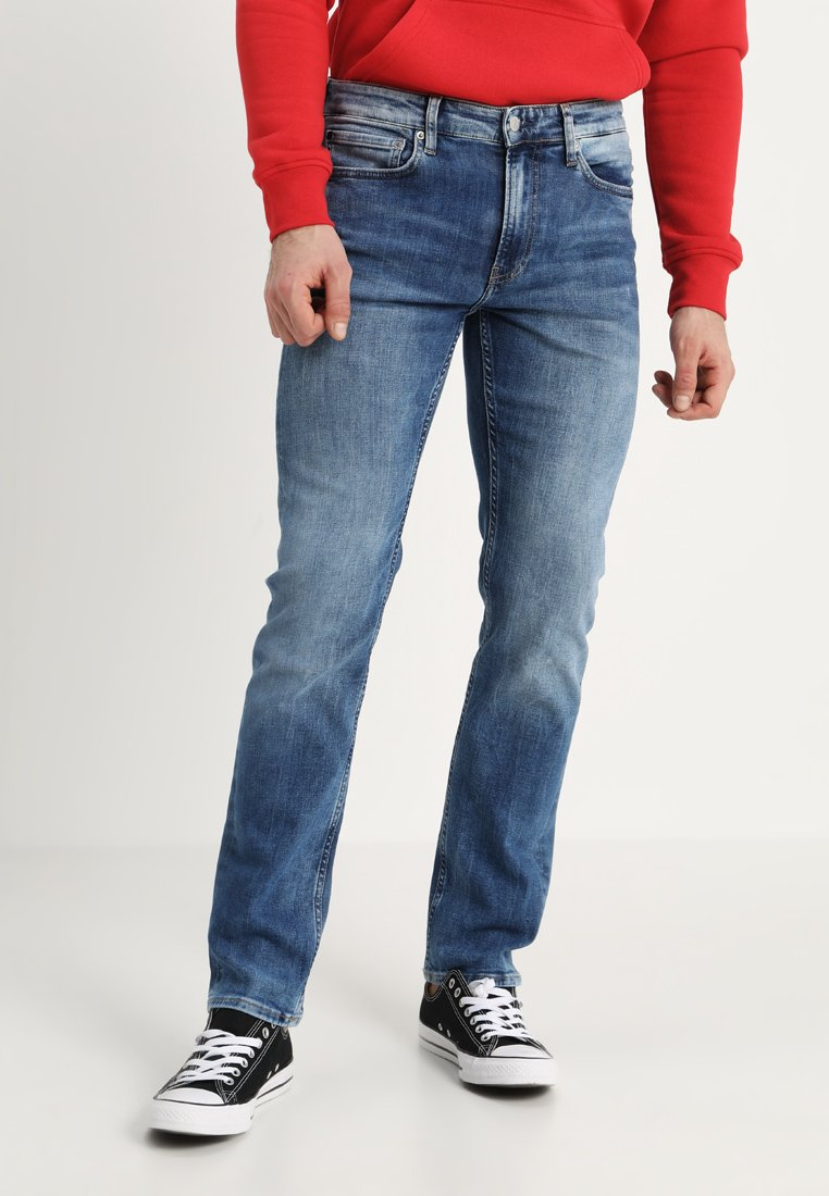 Calvin Klein Jeans - 026 SLIM FIT - Slim fit jeans - denim