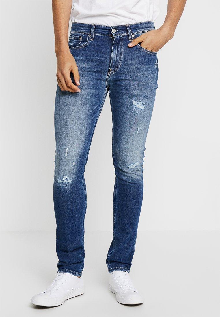 Calvin Klein Jeans - 016 SKINNY - Jeans Skinny Fit - denim