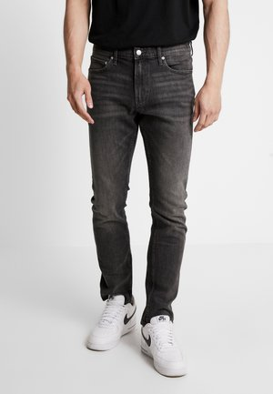 CKJ 026 SLIM - Džíny Slim Fit -  black