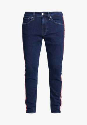SLIM TAPER - Jeans slim fit - blue/white/red