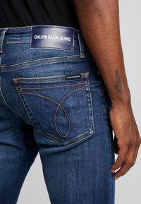 Calvin Klein Jeans - CKJ 026 SLIM - Jeans slim fit - darkblue - 4