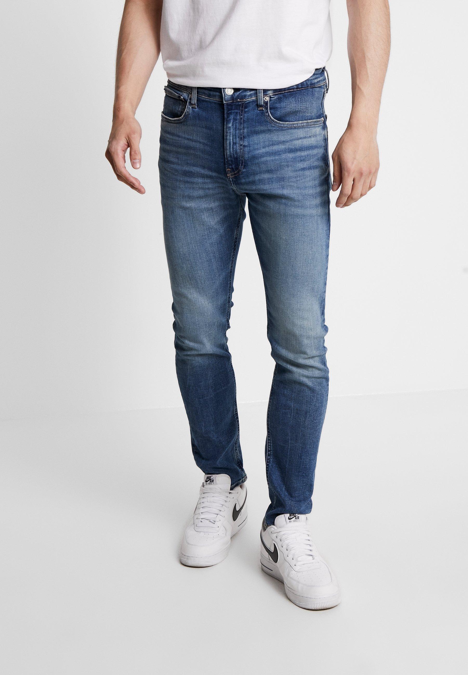 Calvin Klein Blue Blue SkinnyMid Calvin Calvin Jeans Klein SkinnyMid Klein Jeans 8P0wknO