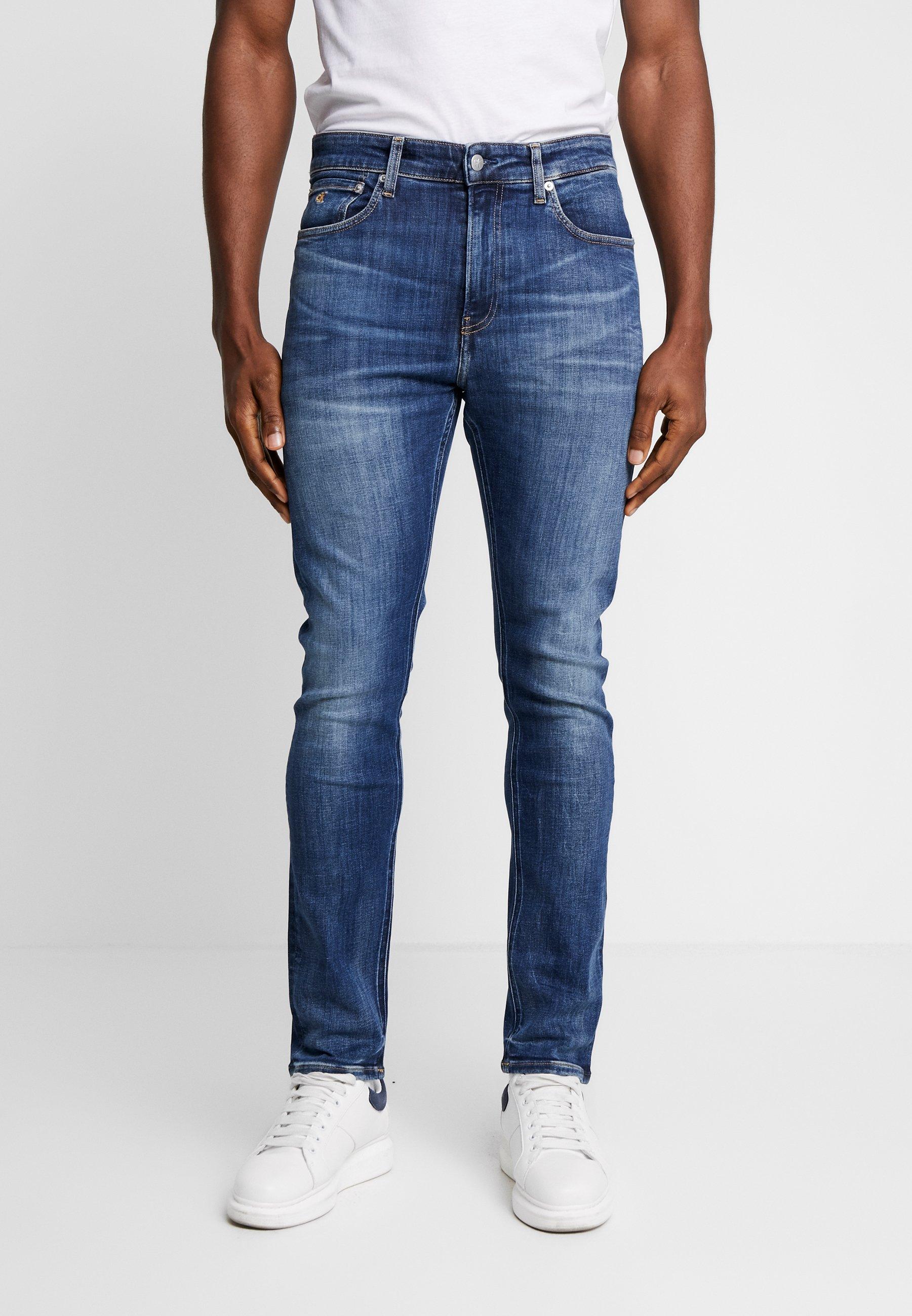 Calvin Klein Jeans 016 SKINNY - Jeansy Slim Fit - dark blue