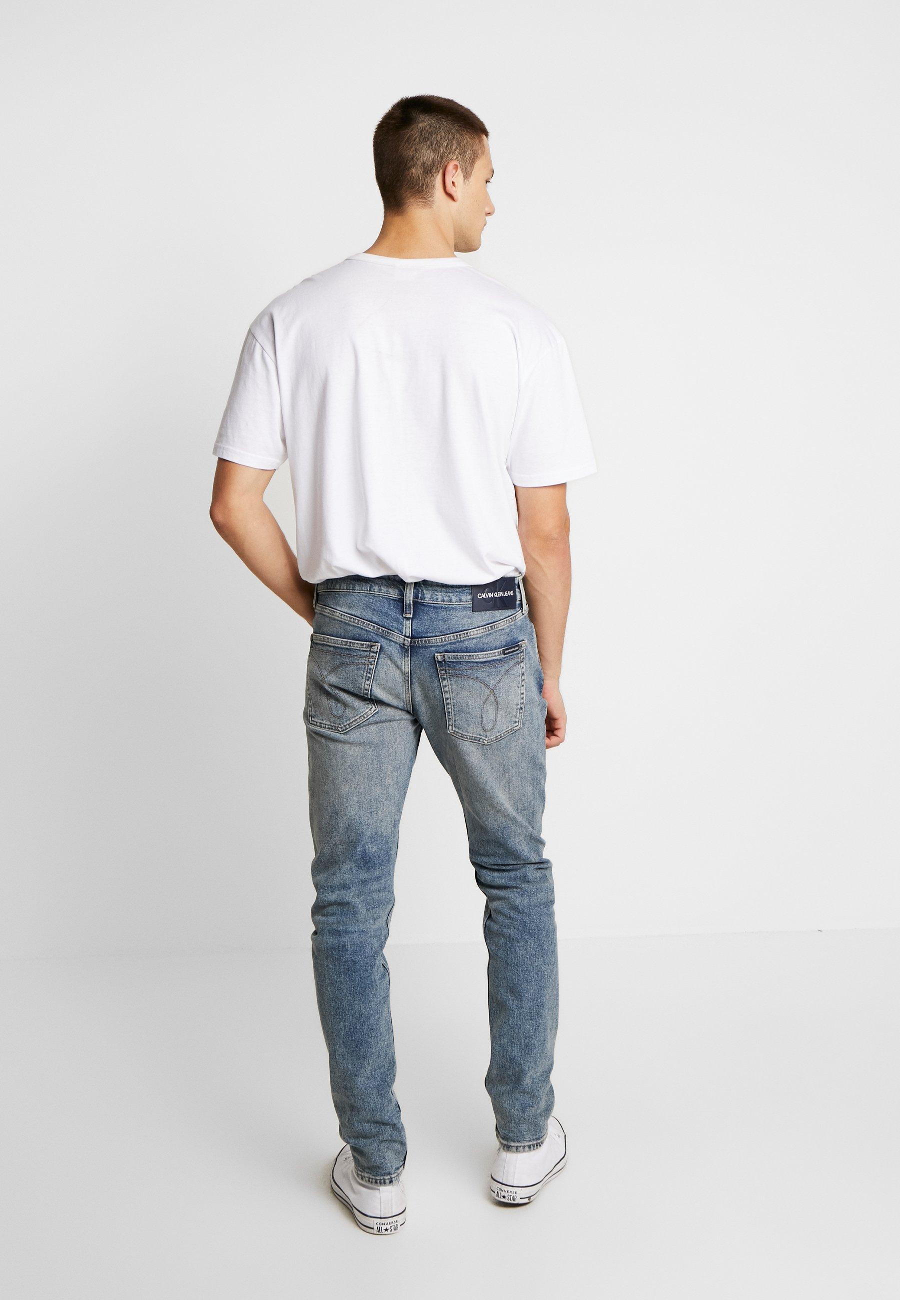 Calvin Klein Jeans Ckj 058 Slim Taper - Tapered Fit Bright Blue