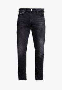 Calvin Klein Jeans - SLIM TAPER - Jeans Tapered Fit - black - 3