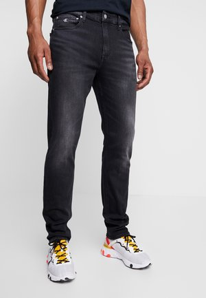 SLIM TAPER - Jeans Tapered Fit - black