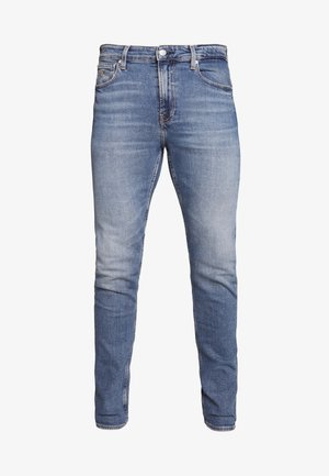 SLIM TAPER - Jean slim - dark blue