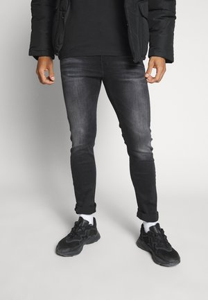 SLIM TAPER - Jeansy Slim Fit - black